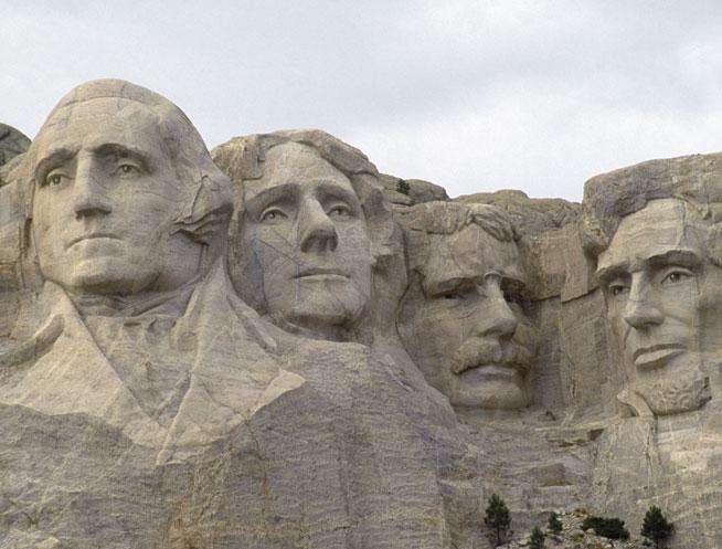 Mount Rushmore, South Dakota - America's best landmarks