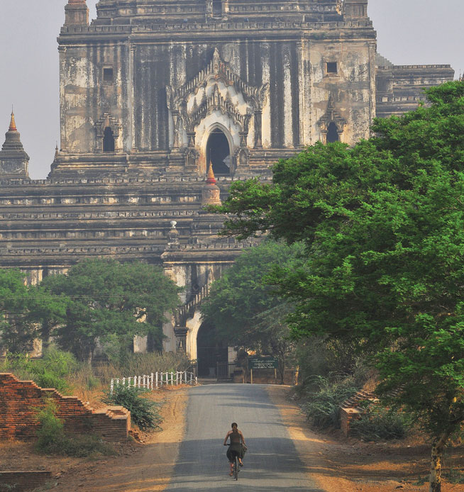 Myanmar - cycling holidays in Asia