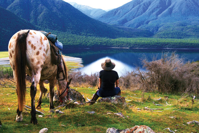 New Zealand - world's best horseriding holidays