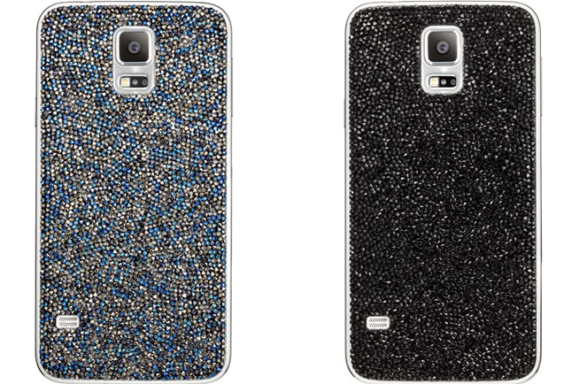 Samsung Galaxy S5 crystal-encrusted covers