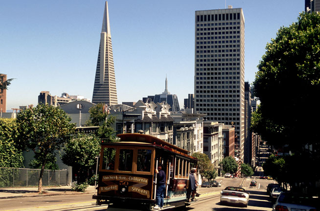 San Francisco - great American cities