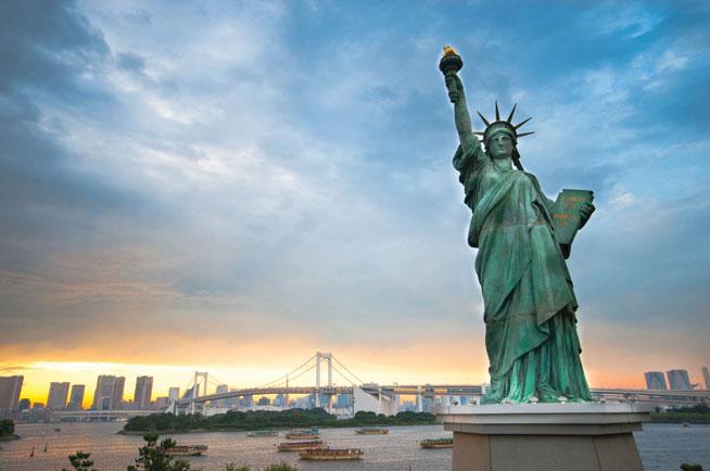 Statue of Liberty, New York - America's best landmarks