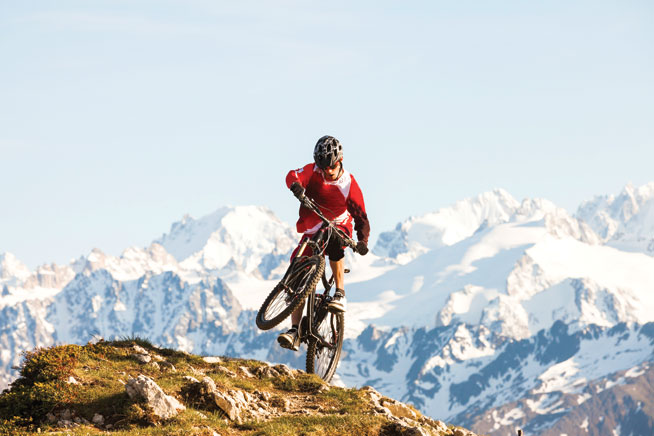 The Alps - cycling holidays in Europe