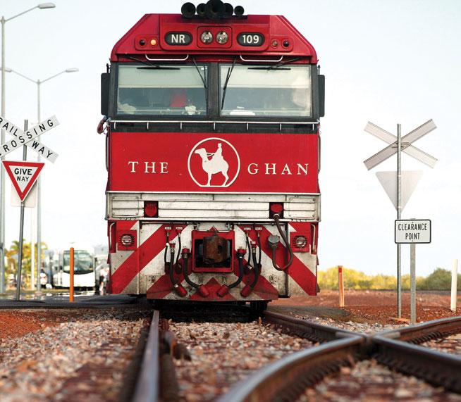 The Ghan - great rail journeys