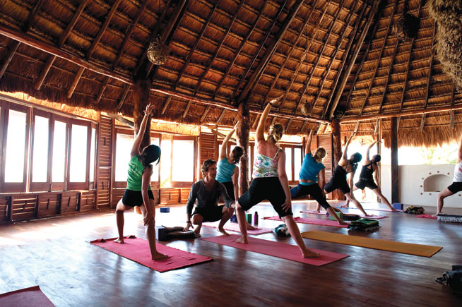 Bikini Boot Camp, Tulum, Mexico - healthy holidays