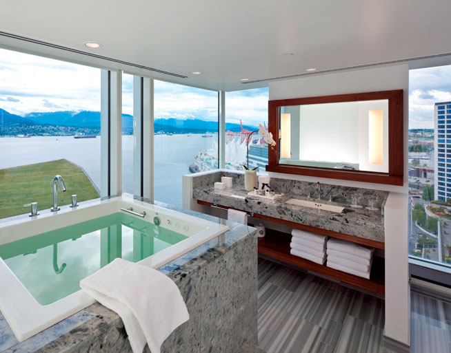 The Fairmont Pacific Rim, Vancouver, Canada - healthy holidays