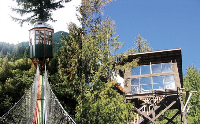 Washington, USA - best treehouse holidays