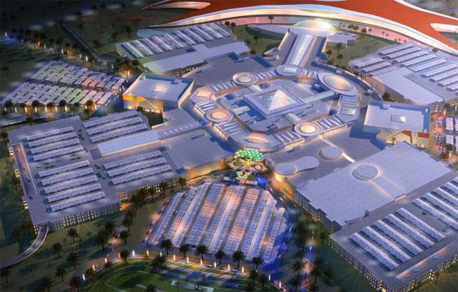 Yas Mall, Yas Island, Abu Dhabi plans