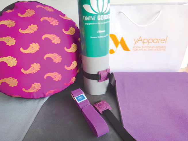 Yoga kit to win from yApparel