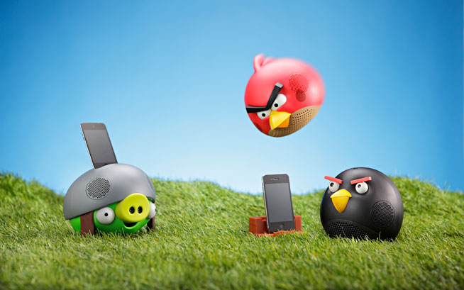 Real life Angry Birds game at Modesh World