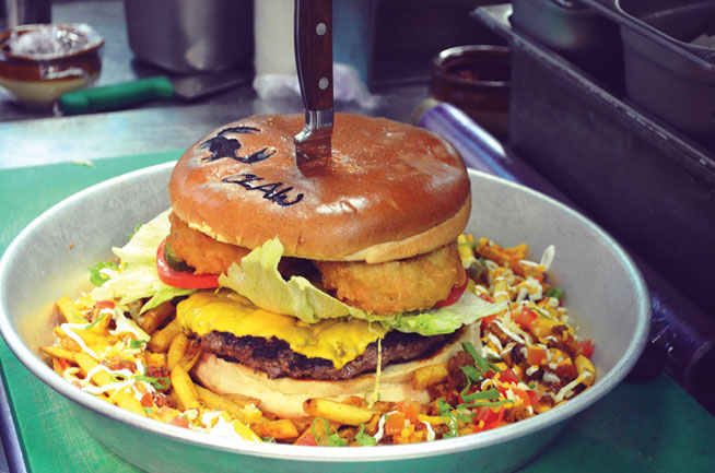 Biggest burger - The Beast, Claw