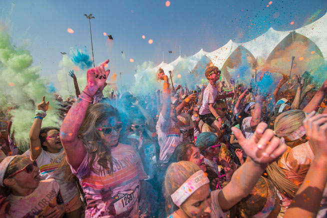 The Color Run - fun runs in Dubai and UAE