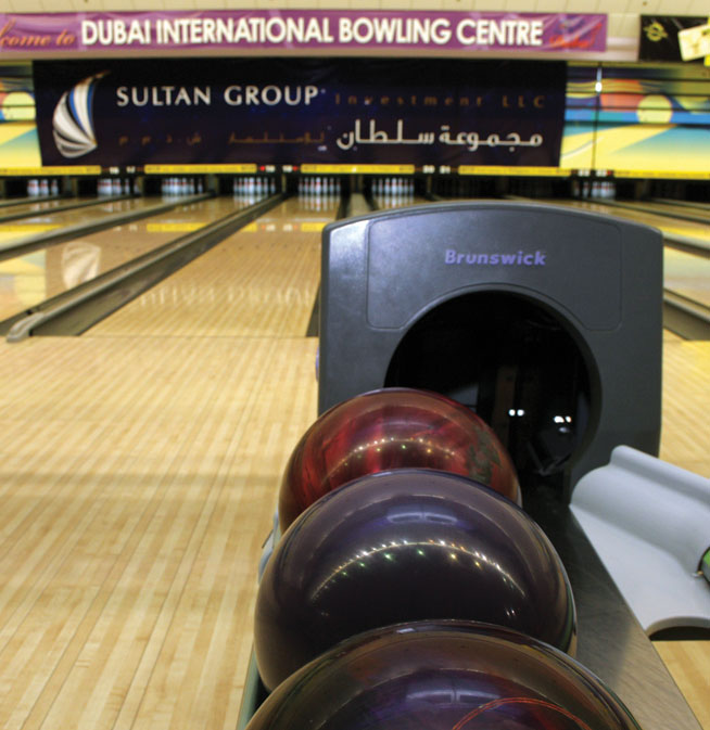 Dubai International Bowling Centre bowling alley in Dubai
