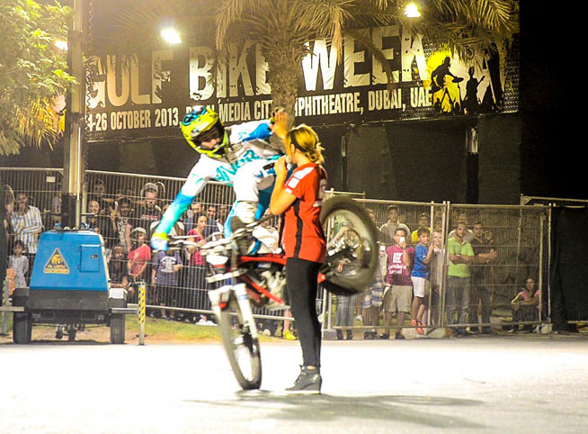 Gulf Bike Week at Dubai Media City Amphitheatre