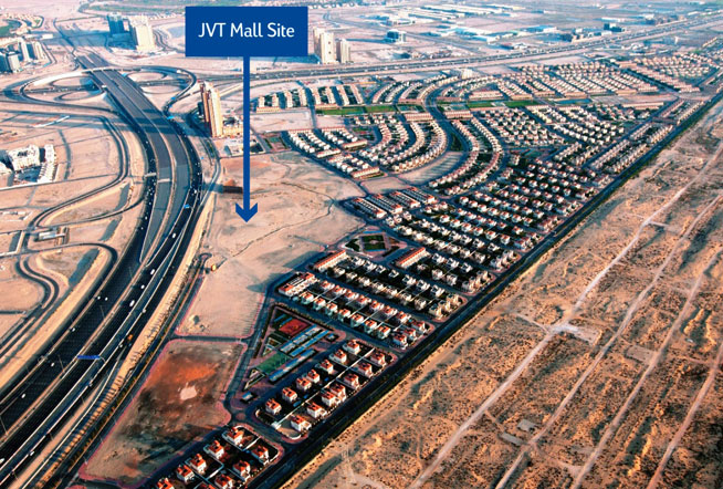 Nakheel have announced they will build JVT Mall, to be completed in 2017