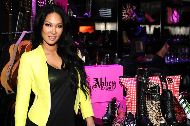 Kimora Lee Simmons in Dubai