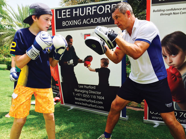 Boxing gyms in Dubai, tried and tested - Lee Hurford Boxing Academy