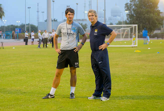 Manchester City soccer schools in Abu Dhabi