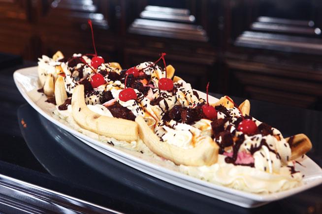 Most expensive dessert - Mo's dessert