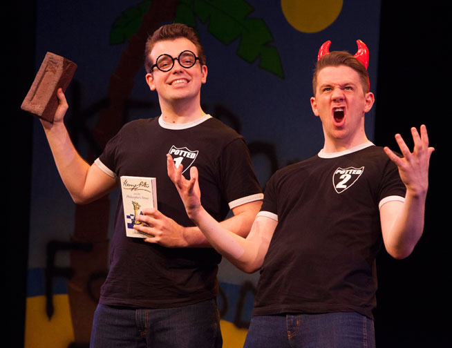 Harry Potter retold in 70 minutes - Potted Potter