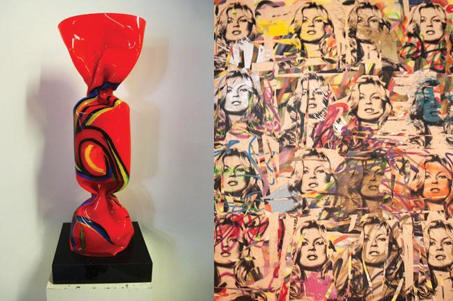Sass Cafe art