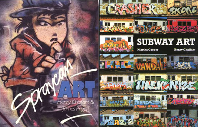 Street Art books - Subway Art and Spraycan Art