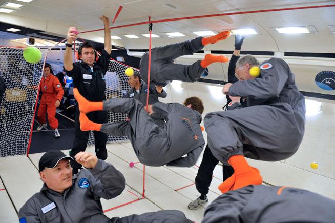 ZeroG by S3 - weightlessness flights in UAE - What's On