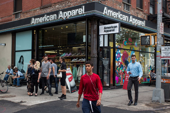 Where to get American Apparel in Dubai