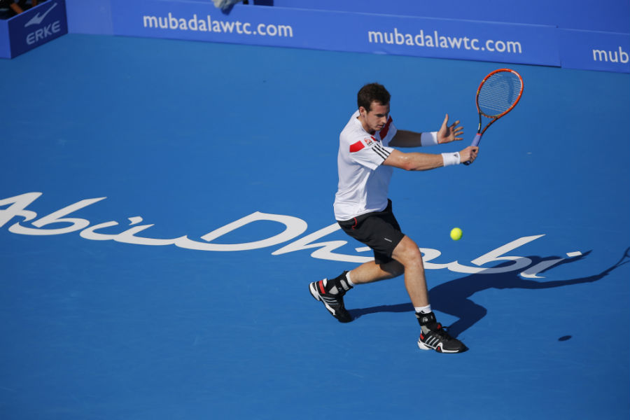 Andy Murray confirmed for Mubadala World Tennis Championship
