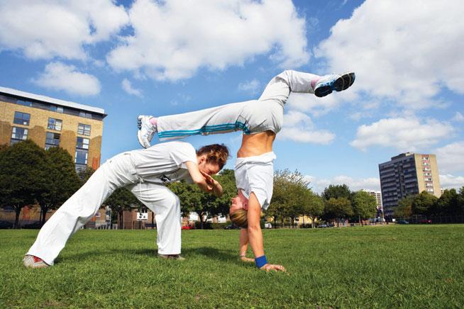 Offbeat sports in Dubai - Capoeira