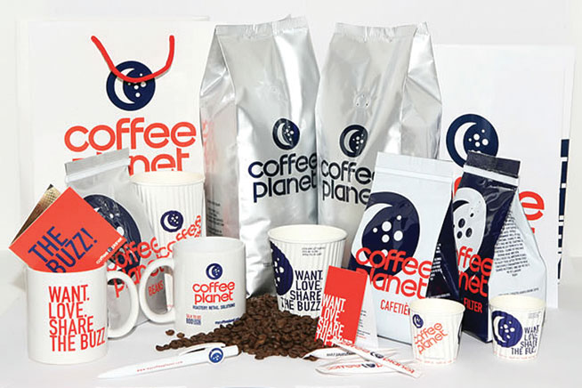 Coffee planet delivery service in Dubai