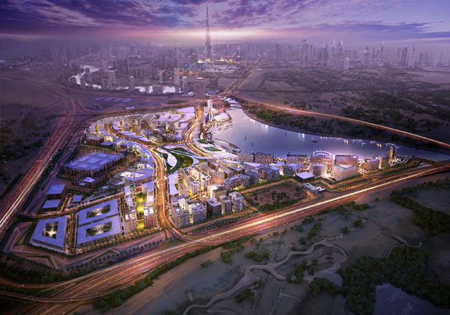 Design District Dubai - d3 - masterplan pictures revealed