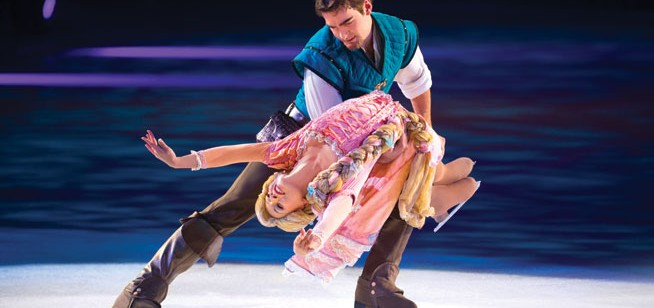 Disney On Ice in Dubai - interview and video