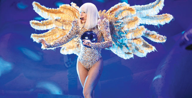 Lady Gaga in Dubai
