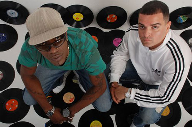 DJ Luck and MC Neat in Dubai, at Chinawhite Dubai