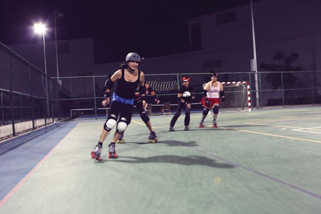 Offbeat sports in Dubai - Roller Derby