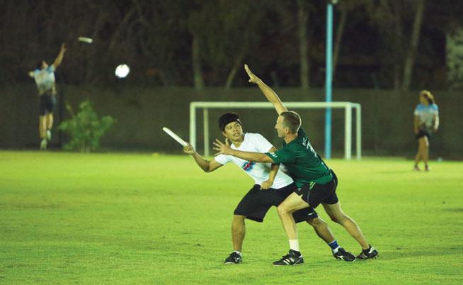 Offbeat sports in Dubai - Ultimate Frisbee