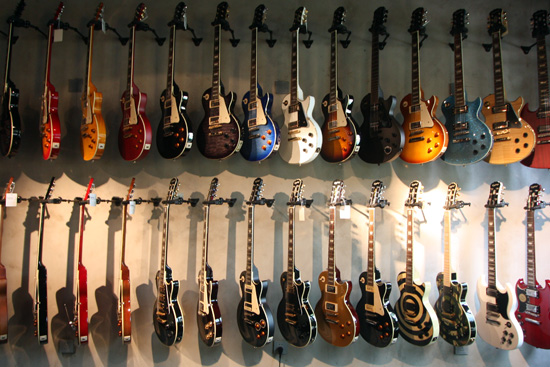 Gibson Brands 120th anniversary showcase in Dubai