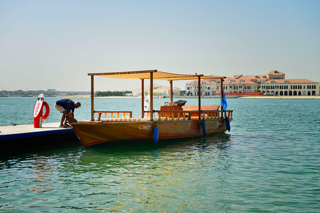 Abra ride from Shangri-La or Fairmont Ritz-Carlton