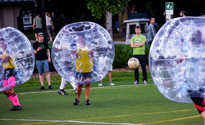 Bubble Football launches in the UAE