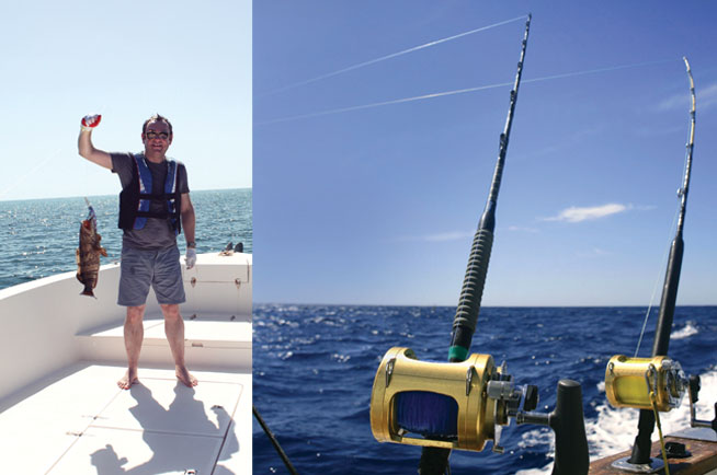 Deep sea fishing in the UAE