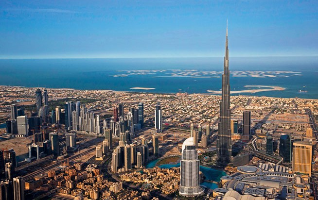 Burj Khalifa At The Top sky breaks record - What's On
