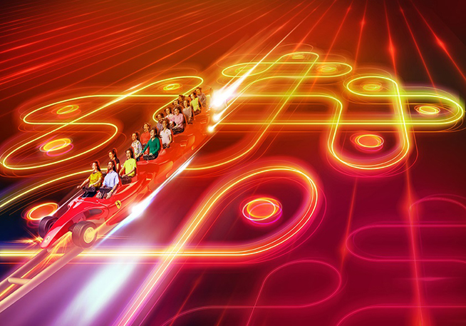 Ferrari World Festival Of LIght