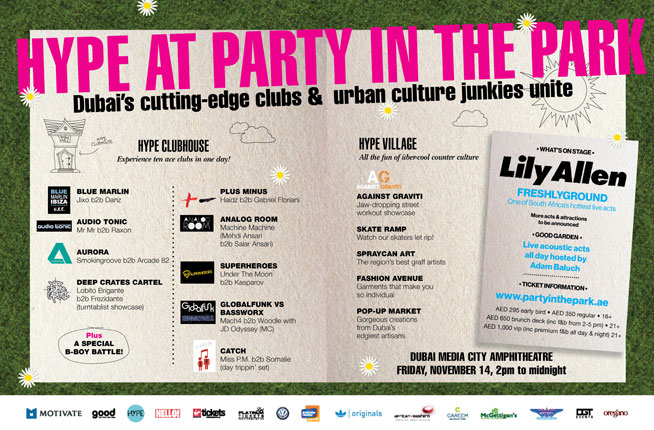 Hype Clubhouse at Party In The Park