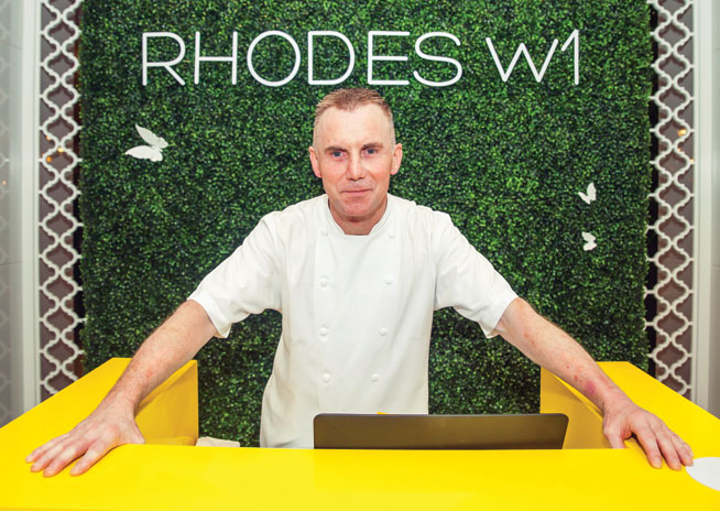 New Gary Rhodes restaurant in Dubai Marina