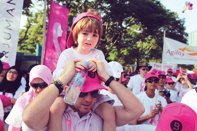 Breast Cancer Awareness Walkathon at Zabeel Park