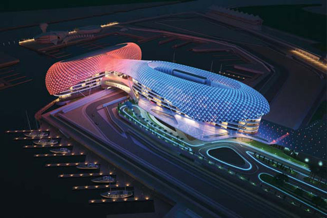 Yas Viceroy Hotel will host the Podium Lounge, F1 Abu Dhabi GP after-party