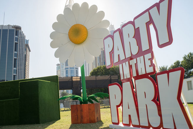 Party In The Park - Dubai music festival