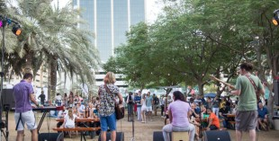 Party In The Park music festival in Dubai - the Good Garden