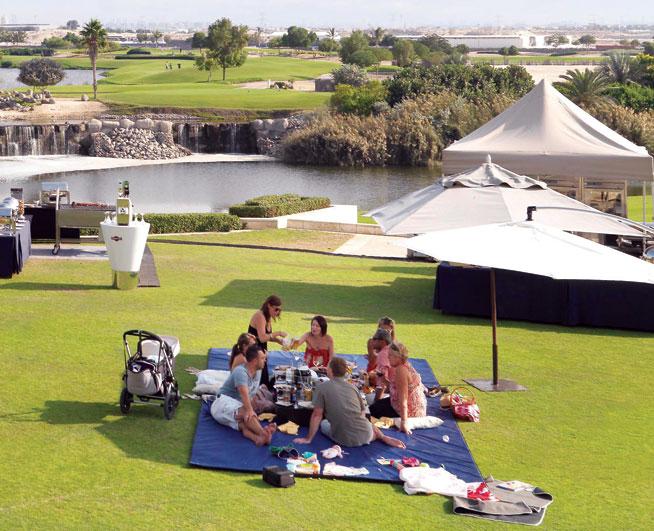 Picnics in Dubai: Al Badia picnic brunch